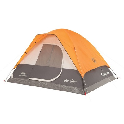 Coleman Moraine Part Fast Pitch 4 Person Dome Tent - Gray