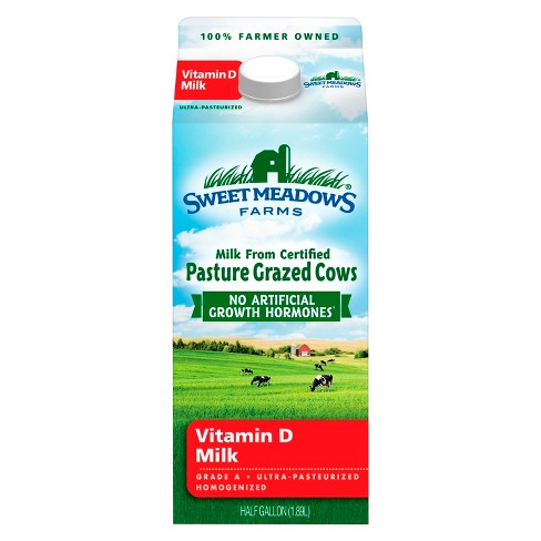 Kemps Sweet Meadows Vitamin D Milk - 0.5gal - image 1 of 1