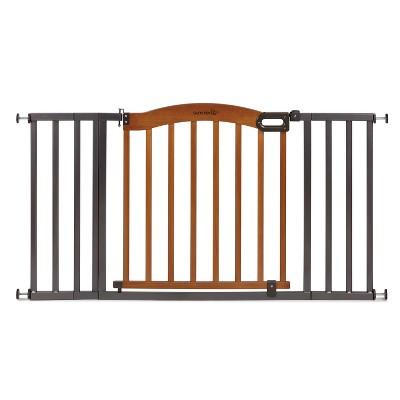 Summer Infant® Walk Thru Decorative Wood and Metal Expansion Baby Gate