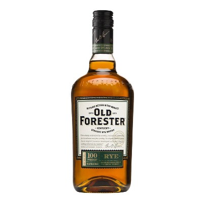 Old Forester Kentucky Straight Rye Whisky - 750ml Bottle