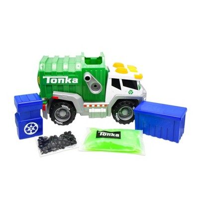Tonka Mega Machines Mighty Mixers Lights & Sounds  - Recycling Truck