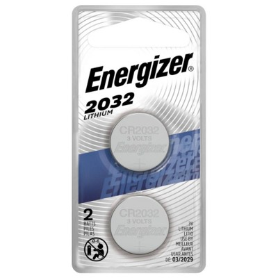 Batteries: Energizer Lithium