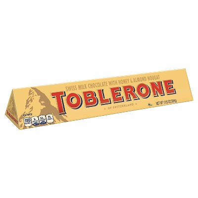 TOBLERONE Swiss Milk Chocolate Candy Bar - 12.6oz