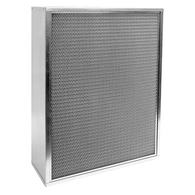 """Air-Care 16"""" x 25"""" x 4"""" Permanent Washable Electrostatic Air Filter"""