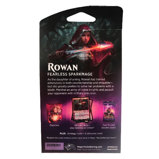 Magic Throne of Eldraine Planeswalker Deck 1 featuring Rowan image number null