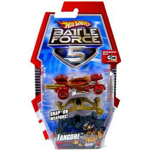 Hot Wheels Battle Force 5 Fangore Die-Cast Car - image 1 of 1