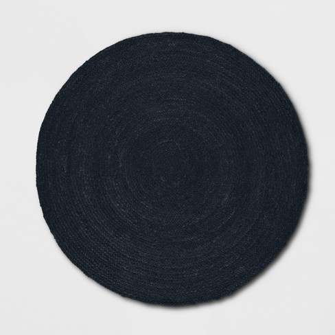Solid Braided Jute Round Area Rug - Opalhouse™ - image 1 of 3