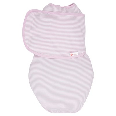 embe® 2-Way Swaddle™ Classic Pink Stripe - OS