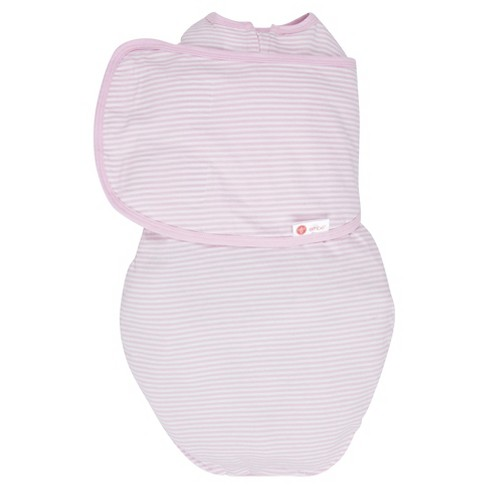 embe® 2-Way Swaddle™ Classic Pink Stripe - OS - image 1 of 3