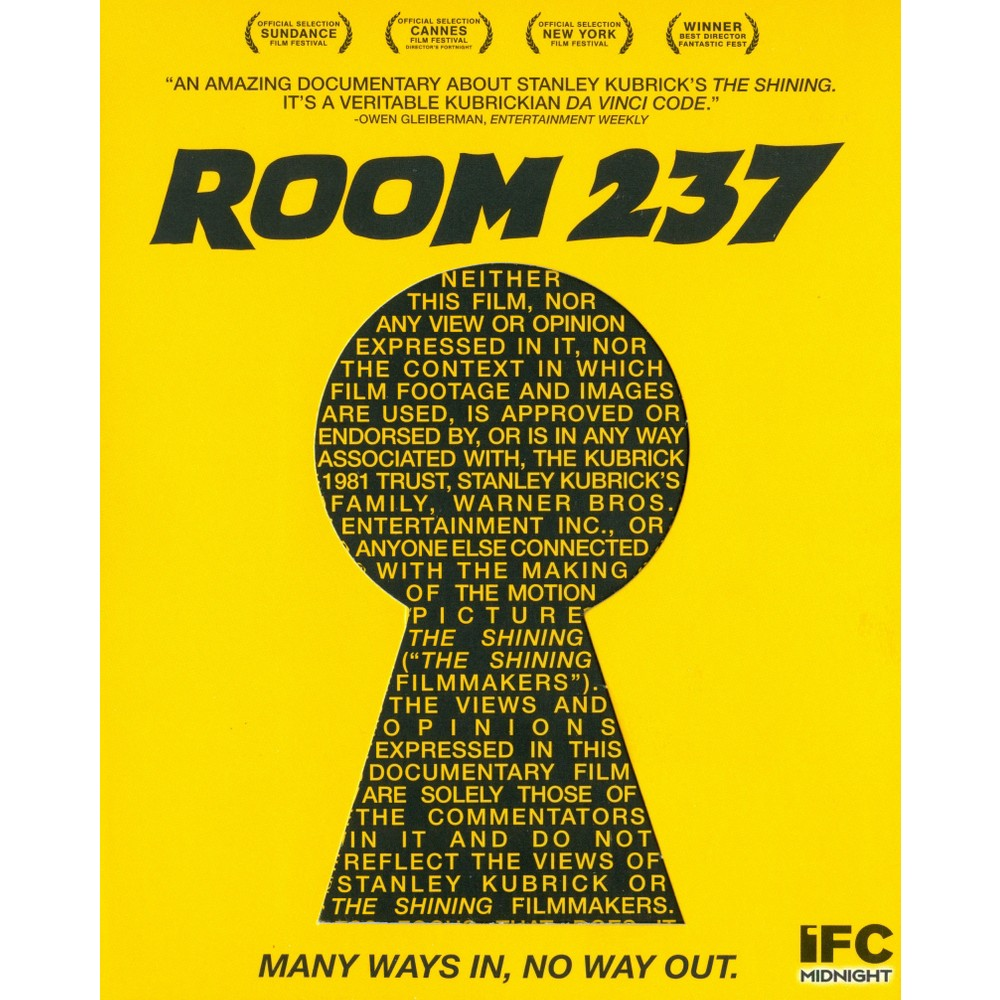 Room 237 (Blu-ray), Movies