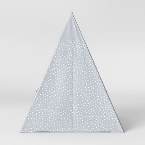 Kids Tent Stars Gray - Pillowfort™ - image 1 of 4