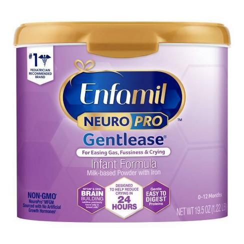 Enfamil NeuroPro Gentlease Infant Formula Powder Tubs (Select Count) - image 1 of 4
