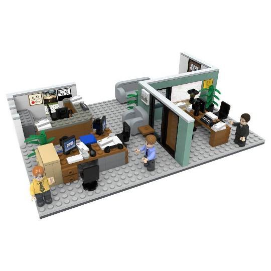 The Office Dunder Mifflin Scranton Branch Construction Set image number null