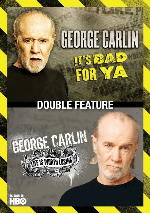 George carlin:It's bad for ya/Life is (DVD) - image 1 of 1