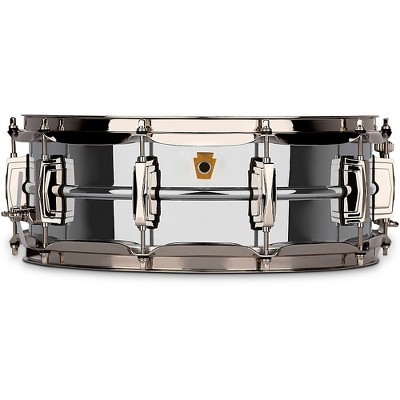 Super Ludwig Chrome Brass Snare Drum with Nickel hardware