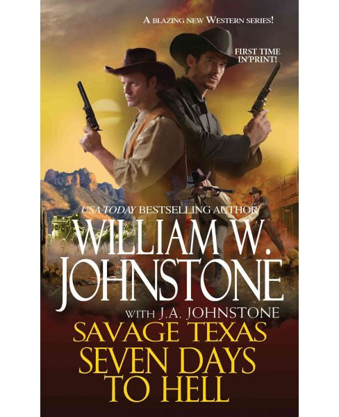 Seven Days to Hell (Paperback) (William W. Johnstone) - image 1 of 1