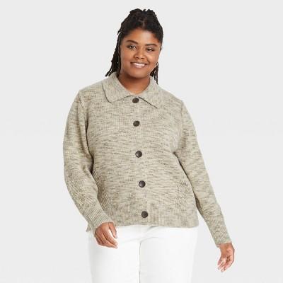 Women's Button-Front Cardigan - Universal Thread™