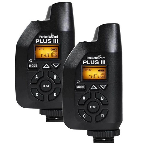 PocketWizard Plus IIIe Kit, Includes 2x Plus IIIe Transceiver with Black G-Wiz Squared Bag - image 1 of 2