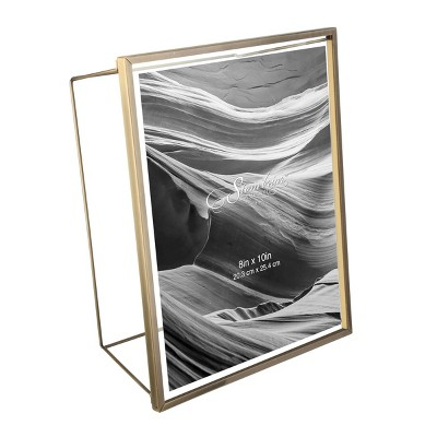 Wire Frame Brushed Antique Brass - Stonebriar Collection