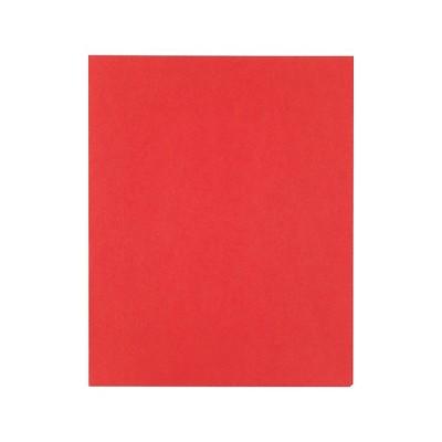 Staples School Grade 2 Pocket Folder Red 25/Box 27532-CC