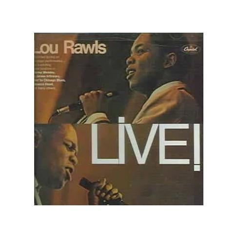 Lou Rawls - Live! (CD) - image 1 of 1