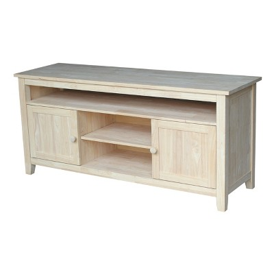 """62"""" Entertainment TV Stand with 2 Doors - International Concepts"""