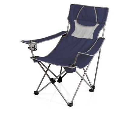 Picnic Time Campsite Camp Chair - Navy