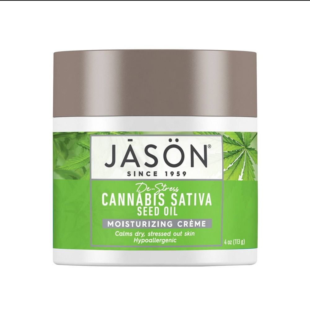 Image of Jason Cannabis Sativa Seed Oil Moisturizing Creme - 4oz