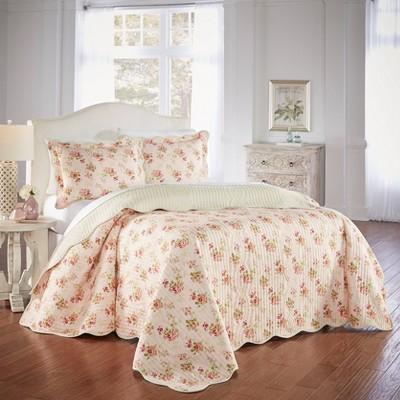 Waverly Cedar Grove 3 Piece Bedspread Set - Waverly