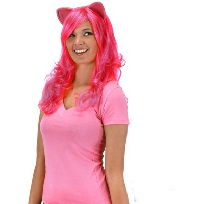 Elope My Little Pony Pinkie Pie Adult Costume Wig W/Ears
