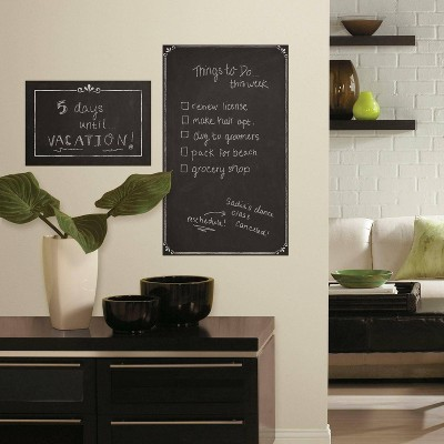 Decorative Chalkboard Peel and Stick Giant Wall Decal - RoomMates