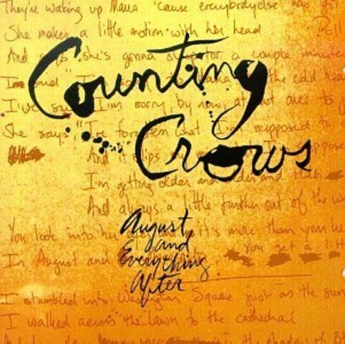 Counting Crows - August And Everything After (Vinyl) - image 1 of 1
