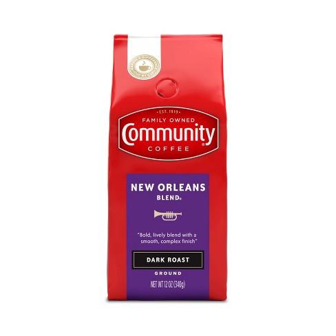 Community Coffee New Orleans Blend Ground Dark Roast Coffee - 12oz - image 1 of 4