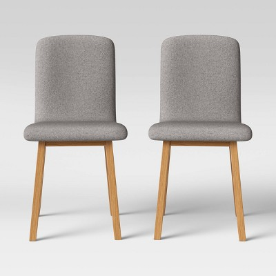 Set of 2 Bora Natural Wood Leg Dining Chairs - Project 62™