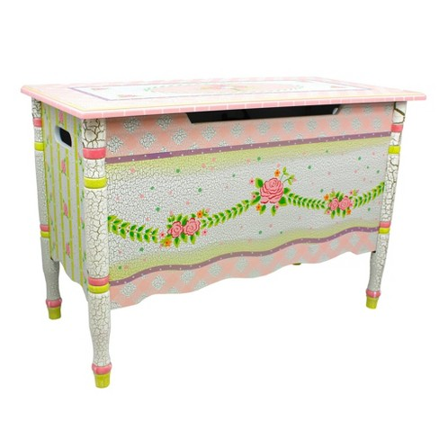 Crackled Rose Fantasy Fields Toy Chest - Teamson Kids - image 1 of 4