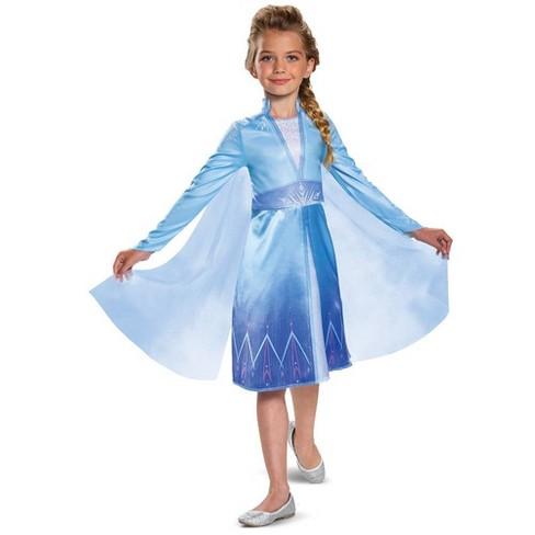 Girls' Disney Frozen 2 Elsa Classic Halloween Costume - image 1 of 2