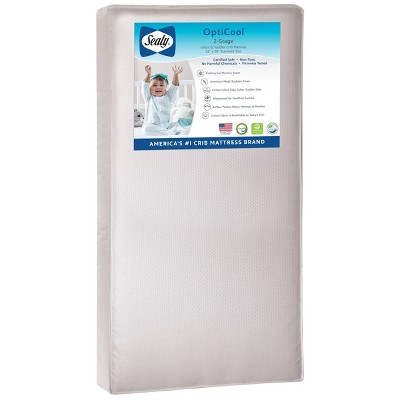 Sealy OptiCool 2-Stage Cool Foam Crib and Toddler Mattress