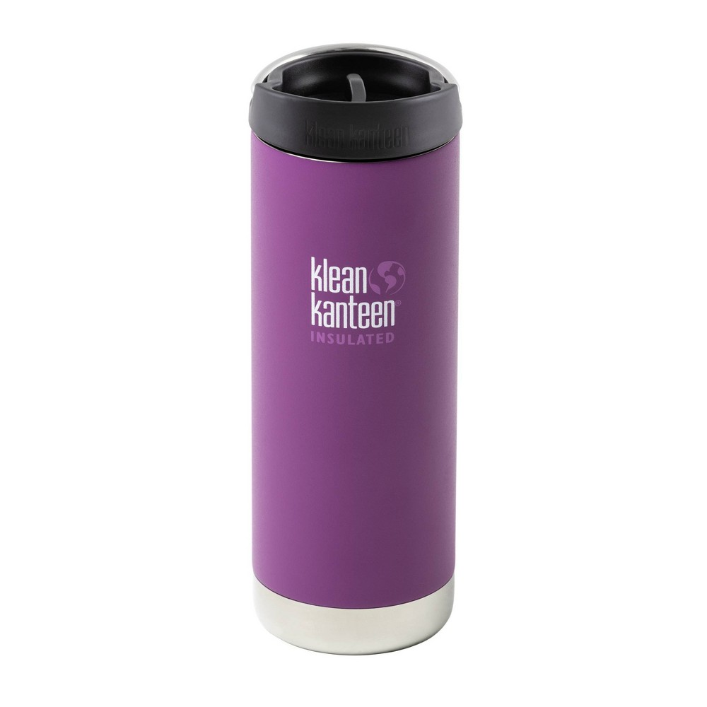 Image of Klean Kanteen 16oz Stainless Steel Portable Drinkware Purple