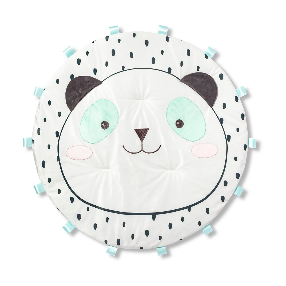 Image of Activity Playmat - Cloud Island Panda, Green White