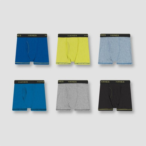Hanes Boys Boxer Briefs Pack of 4
