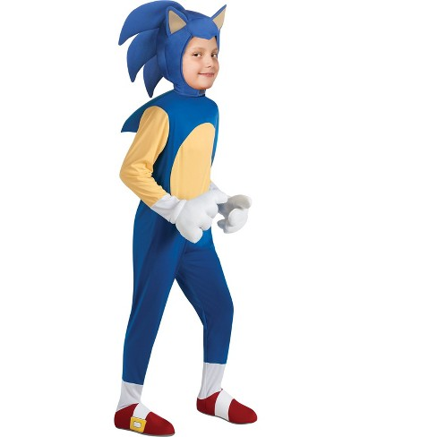Sonic the Hedgehog Boys' Deluxe Halloween Costume - image 1 of 1