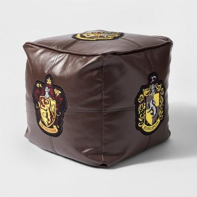 Harry Potter Hogwarts Floor Pillow Brown