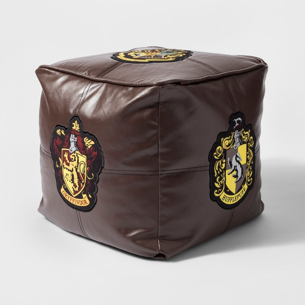 Image of Harry Potter Hogwarts Floor Pillow Brown