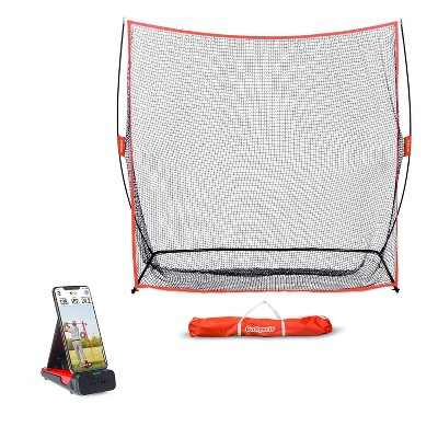 Rapsodo Mobile Launch Monitor for Golf Indoor and Outdoor Use iPhone & iPad Only Bundle with GoSports Golf Practice Hitting Net and Carry Bag
