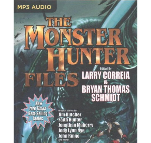 Monster Hunter Files -  (Monster Hunter) (MP3-CD) - image 1 of 1