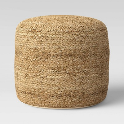 Jada Woven Pouf Natural - Opalhouse™