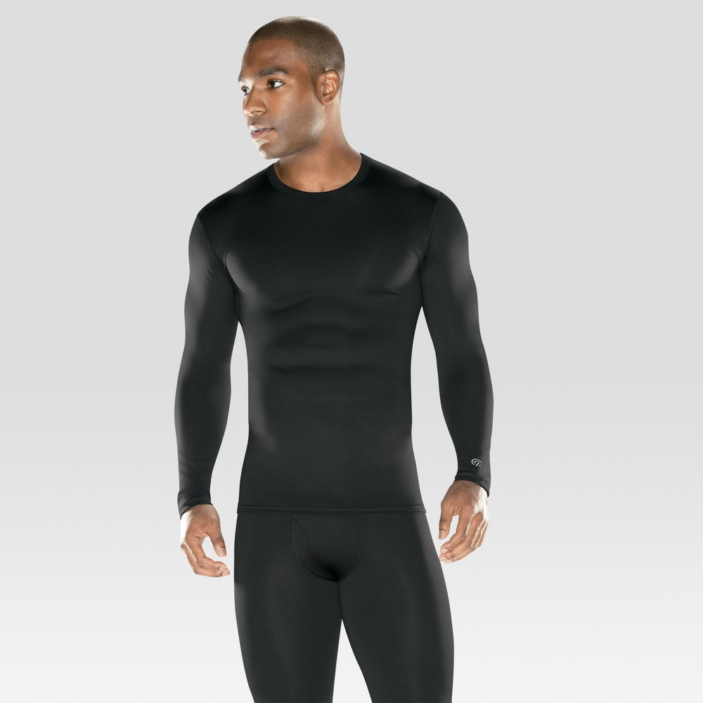 Image of Men's Heavyweight Baselayer Stretch Thermal Undershirt - C9 Champion Black L, Size: Large
