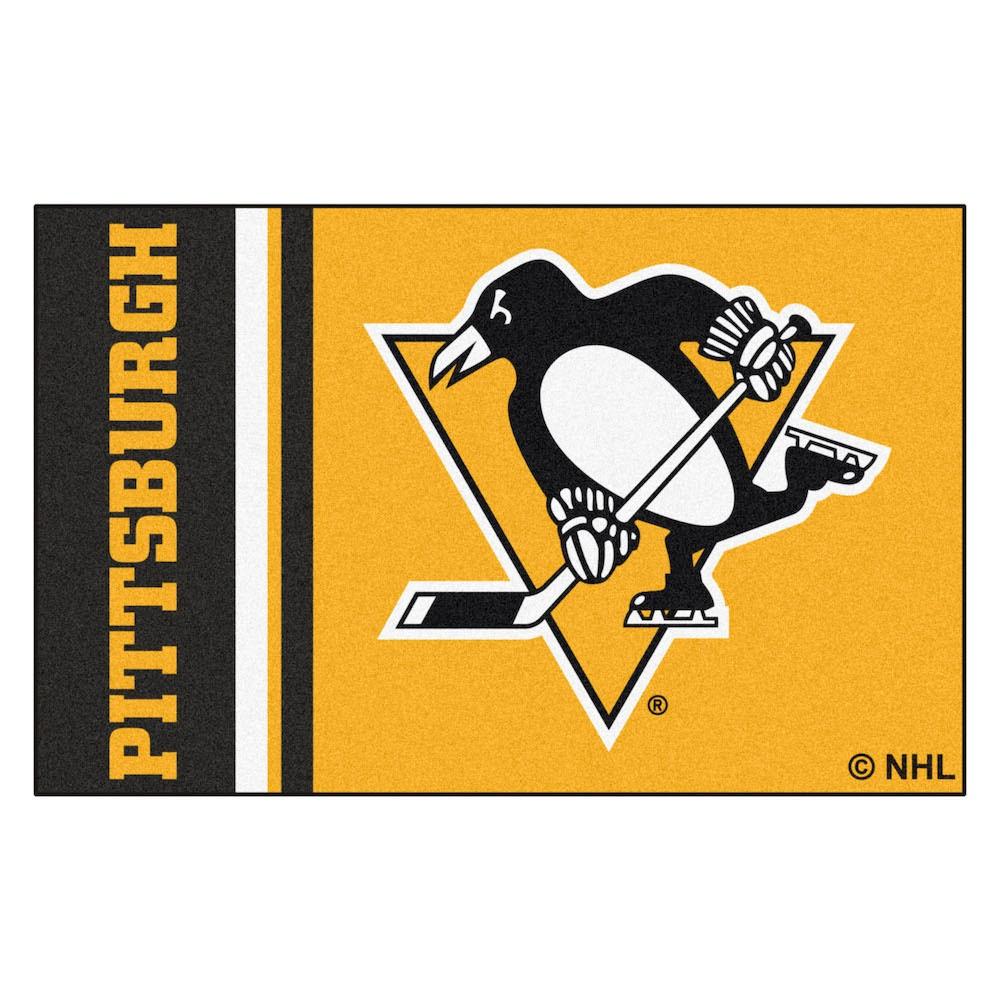 NHL Pittsburgh Penguins Uniform Starter Rug 19