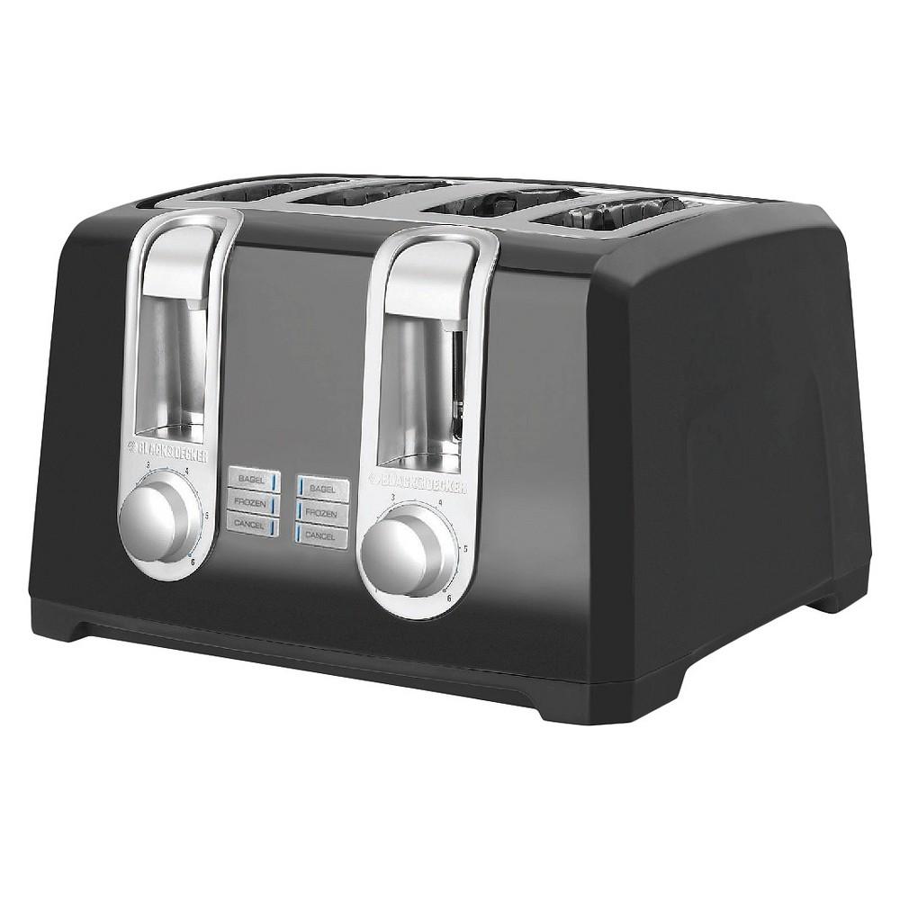 Black+decker 4-Slice Toaster - Black