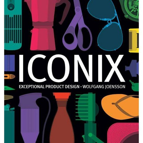 Iconix - by  Wolfgang Joensson (Hardcover) - image 1 of 1